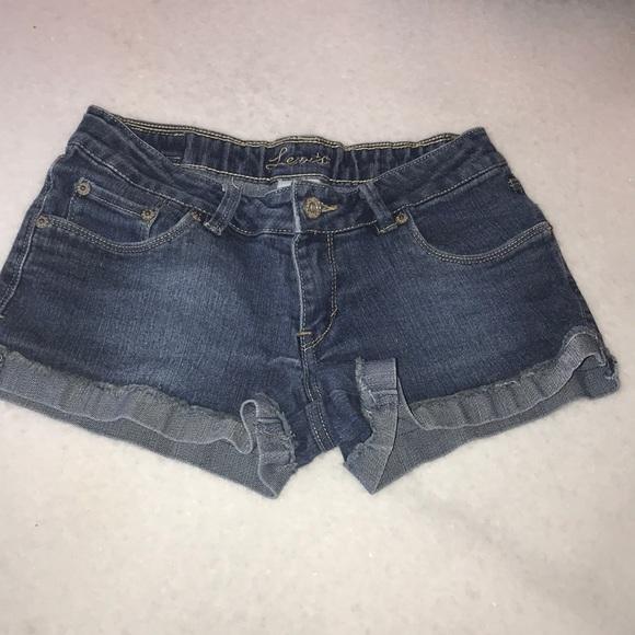 Levi's Pants - Girls Levi jean shorts, size 14